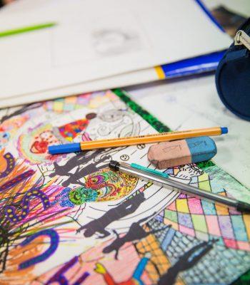 Chaque semaine, le Centre Culturel Universitaire propose un atelier dessin