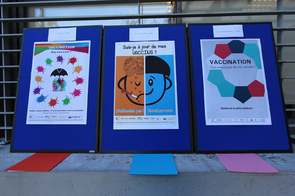 Concours d'affiche sur le thème de la vaccination