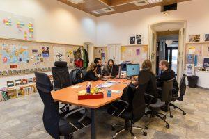 L'espace de coworking situé au Palazzu naziunale à Corte
