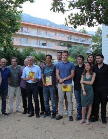 Journée Pépite Corse, dans les jardins de l'Hôtel de Ville de Corte