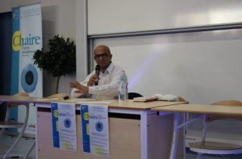 Intervention d'Ali Benmakhlouf dans le cadre de la chaire Esprit méditerranéen