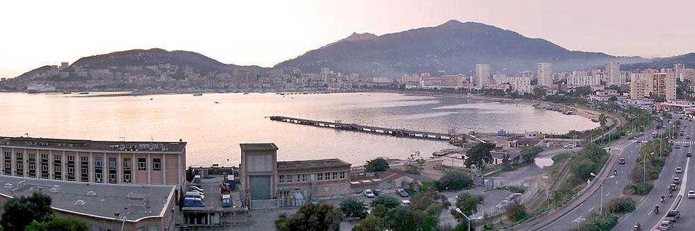 Vue panoramique d'Ajaccio
