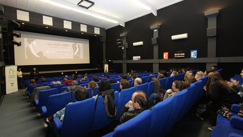 Cinéma L'Alba, Corte