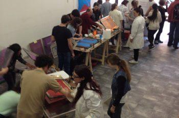 Participation de la filière Arts au Festival de la BD à Bastia
