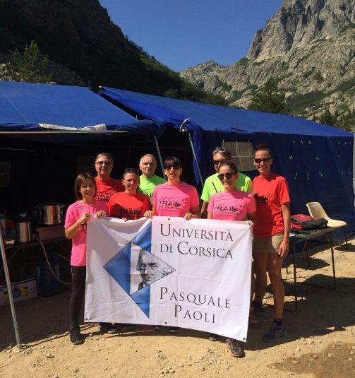 Le Restonica Trail, avec le soutien de l'Université de Corse
