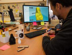 Modélisation 3D au Fab Lab Corti de l'Università di Corsica