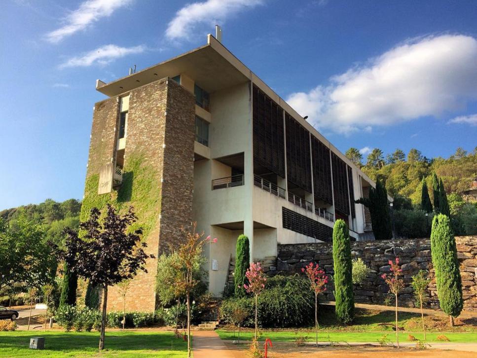 Parvis, Campus Grimaldi