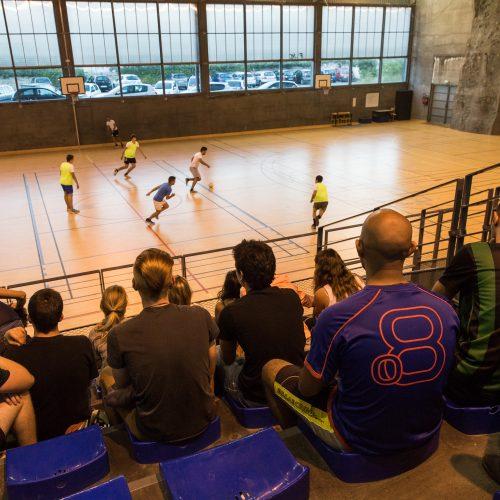 Halle des sports, Campus Grimaldi
