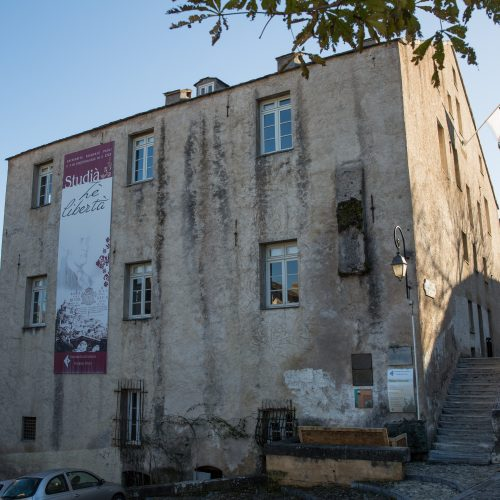 Le Palazzu naziunale héberge le Fab Lab, l'espace de coworking et la Fondation de l'Université de Corse