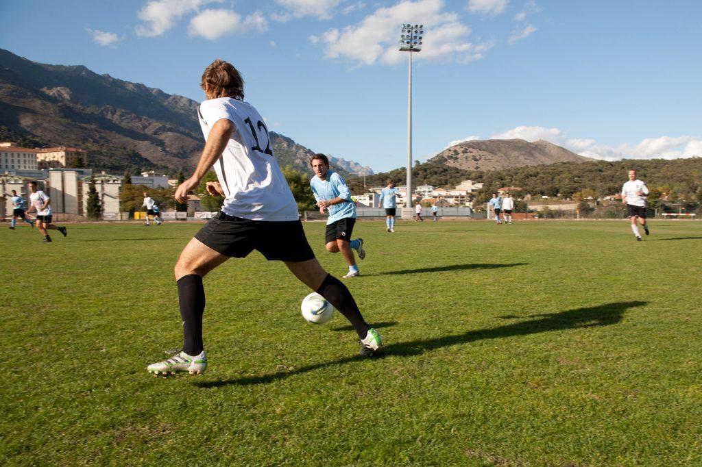 Tournoi de foot organisé par l'Université de Corse