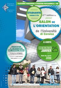 salon de l 39 orientation 2017 universit di corsica