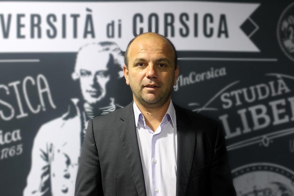 Dominique Federici, Président de l'Université de Corse